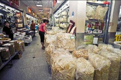 Yide Lu Dry Goods Market Guangzhou