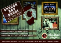 Canada Day Celebration @ The Brew Panyu!